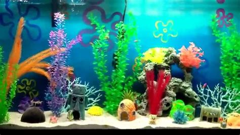 spongebob fish tank accessories the best spongebob aquarium