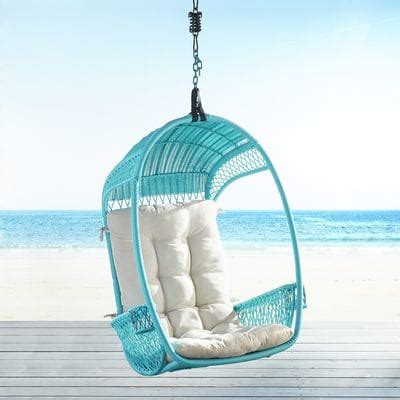 turquoise swingasan 174 hanging chair pier 1 imports