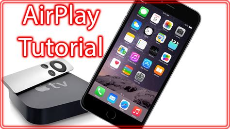 airplay iphone airplay iphone 6 6 plus ipod touch running ios 9