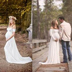maternity bridesmaid 2016 maternity wedding gowns empire white soft chiffon the shoulder simple bridal dresses
