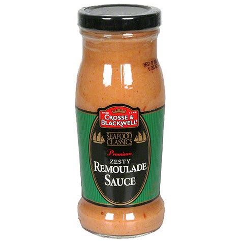remoulade sauce crosse blackwell premium zesty remoulade sauce 7 5 oz pack of 6 condiments sauces