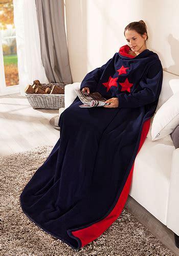 Wolldecke Zum Anziehen by Id 233 E Couture Couverture Avec Manches Boutique En Ligne