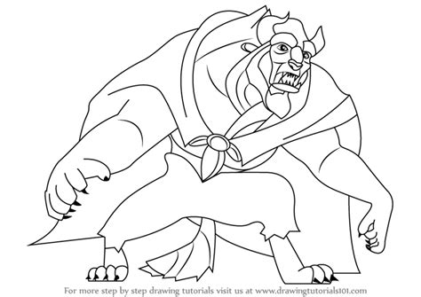 Learn How To Draw Beast From Beauty And The Beast (beauty