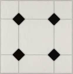 jubilee black white 24320 vinyl tile