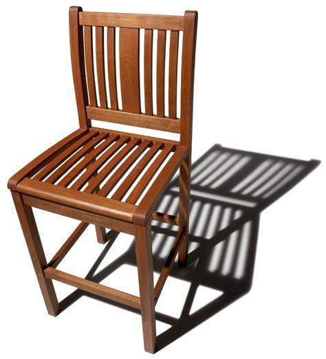 strathwood bradford all weather hardwood bar stools set of 2