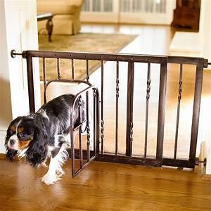 Steel Pet Gate - Frontgate
