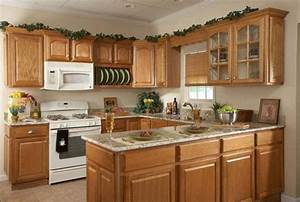 Kitchen decor ideas cheap kitchen decor design ideas for Kitchen colors with white cabinets with candle holder favors