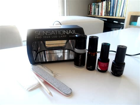 sensationail gel nail kit review with pictures lipgloss is my