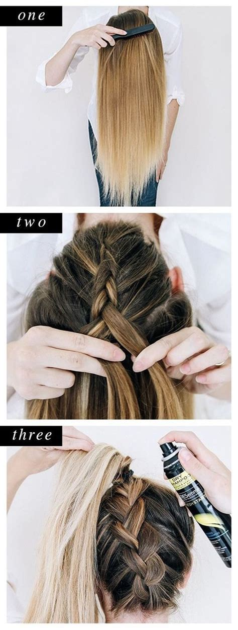 easy step  step hairstyles  girls