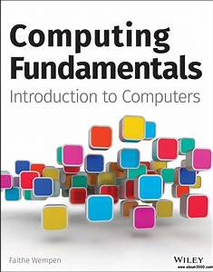 Computing Fundamentals  Introduction To Computers