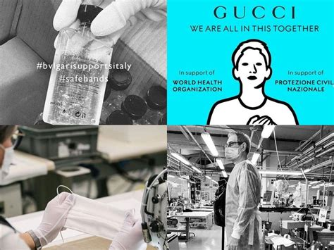 covid industry louis gucci
