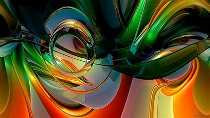 Colorful Abstract Rainbow Curves 2k