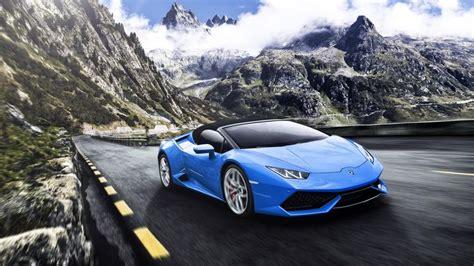 Blue Lamborghini Huracan Wallpaper Iphone by Blue Lamborghini Huracan 4k Wallpaper Lamborghini