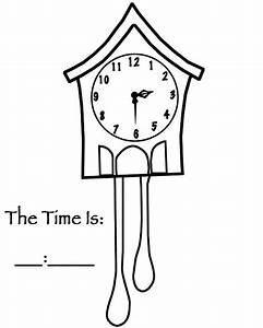 pendulum clock diagram sketch coloring page With clock diagram