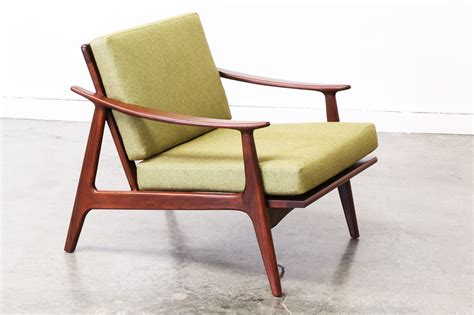 mid century style walnut lounge chair vintage supply store