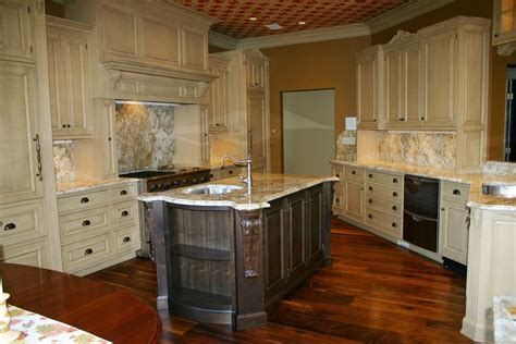 custom maple kitchen  walnut island  gardner