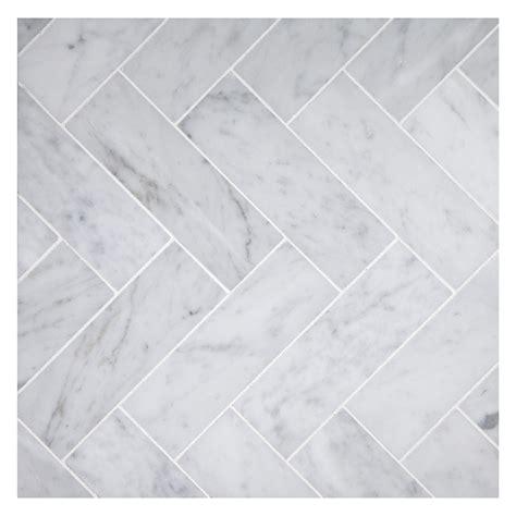 subway tile in kitchen herringbone mosaic 2 x 6 tile carrara honed marble