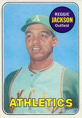 Player pages have all the cards from you favorite player together on one page. baseball cards reggie jackson   ... set name 1969 topps card size 2 1 2 x 3 1 2 number of cards ...