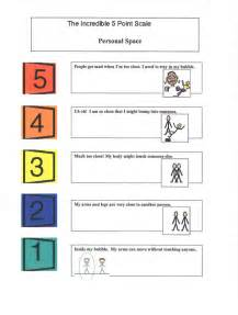 5 Point Behavior Scale Printable Chart