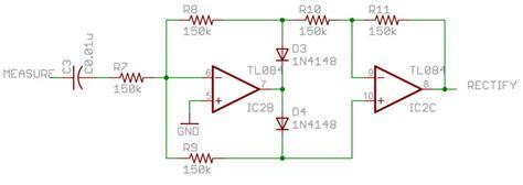 op amp precision rectifier  electrical engineering