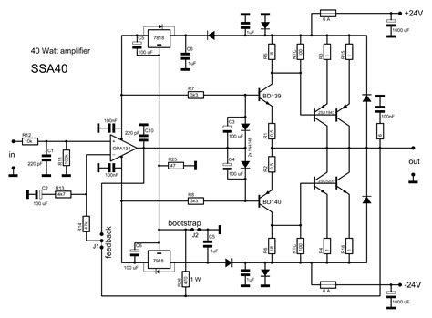 Amplifier Circuit Diagram Images