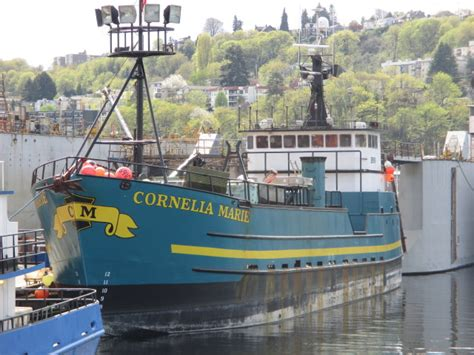 Boats Deadliest Catch by F V Cornelia Deadliest Catch Boat Seattle Shipyard
