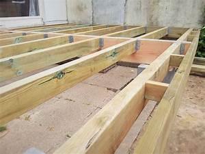 Terrasse Bois Sur Plot Beton : terrasse en bois sur plot meilleur terrasse bois sur plots ~ Melissatoandfro.com Idées de Décoration