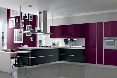chambre aubergine et blanc cuisine couleur aubergine inspirations violettes en 71 idées