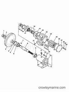 Mercruiser Raw Water Pump Diagram
