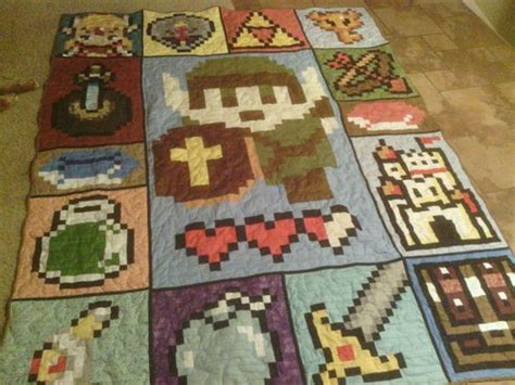 Zelda Video Game 72 X 90 Quilt Sleep Awesome And Blankets