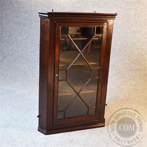 antique kitchen cabinets for antique corner cupboard glazed wall display cabinet 7476