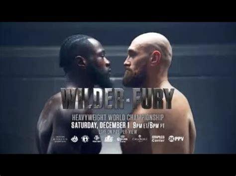 Deontay Wilder vs Tyson Fury Promo - IT'S ON - YouTube