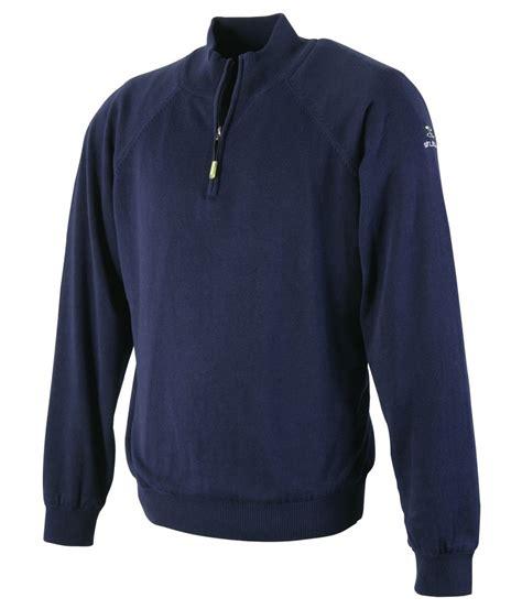 mens half zip sweater stuburt mens essentials half zip lined sweater golfonline