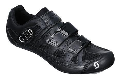scott road pro black shoes  bike shoes