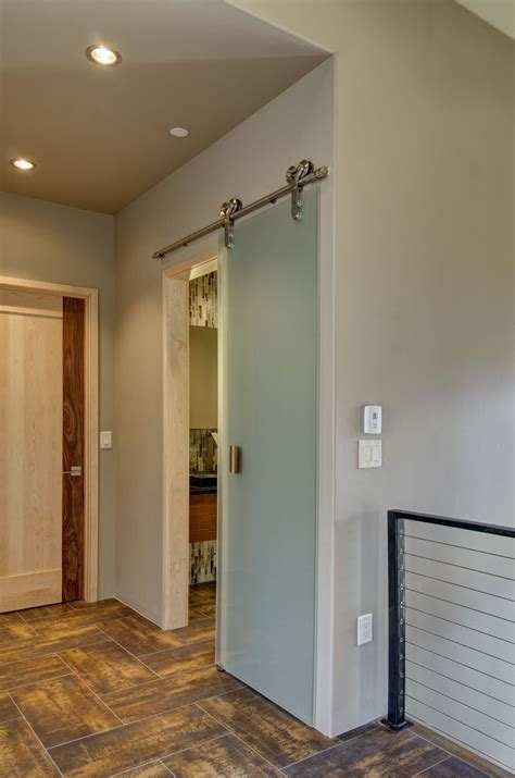 Sliding Barn Doors Don't Have to be Rustic!   Sun Mountain