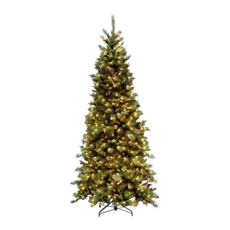 national tree company 9 ft tiffany slim fir artificial