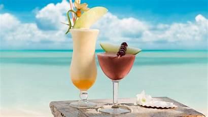 Drinks Summer Beach Desktop Wallpapers Wallpaperaccess Downloaded