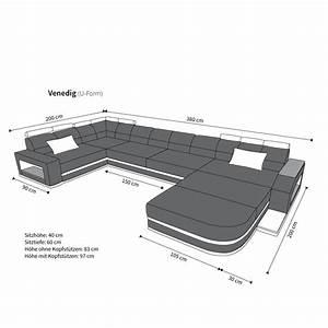 Big Sofa Xxl U Form : stoffsofa venedig polstersofa stoff wohnlandschaft dunkelgrau ebay ~ Bigdaddyawards.com Haus und Dekorationen
