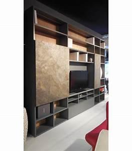 Meuble Tv Ethnique : composition biblioth que global meubles ~ Teatrodelosmanantiales.com Idées de Décoration