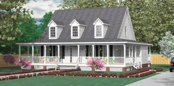 one story house plans with wrap around porches southern heritage home designs house plan 2051 a the ashland quot a quot