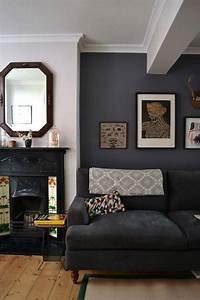 44, Home, Decor, Schemes, Incorporating, Dark, Walls, Diy