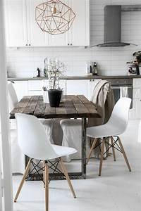les 25 meilleures idees de la categorie salles a manger With salle À manger contemporaineavec chaises colorees