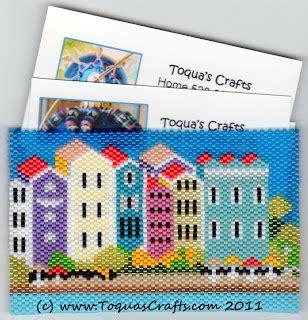 Toqua's Crafts Business Card Holder Finished