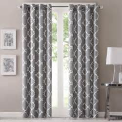 Geometric Pattern Curtains Uk by Madison Park Westmont Geometric Pattern Curtain Panel