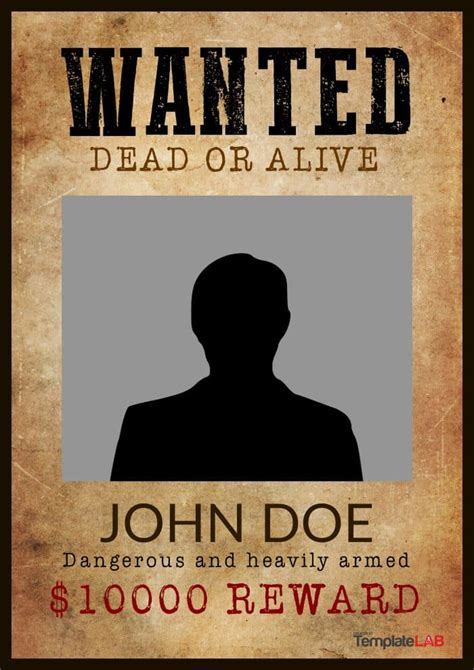 wanted poster templates photoshop  google