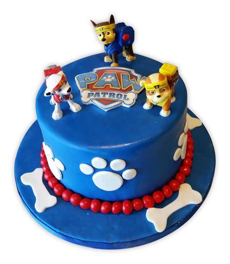 paw patrol fondant cake rashmi 39 s bakery