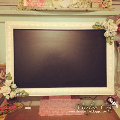 shabby chic computer monitor frame party gifts