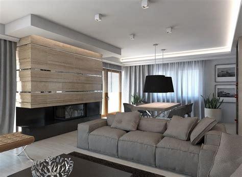 wandgestaltung wohnzimmer steinoptik wohnideen