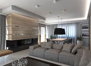 Wandgestaltung Wohnzimmer Streifen : wandgestaltung im wohnzimmer 85 ideen und beispiele ~ Sanjose-hotels-ca.com Haus und Dekorationen