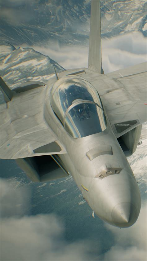 wallpaper ace combat  skies unknown  games